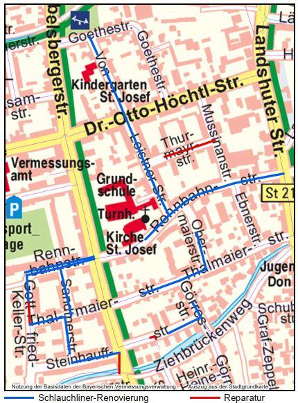 Sanierungsgebiet Rennbahnstraße